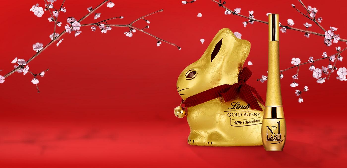 Až do 5. dubna 2021 od nás ke každé objednávce nad 500 Kč dostanete čokoládového zajíčka Lindt jako DÁREK!